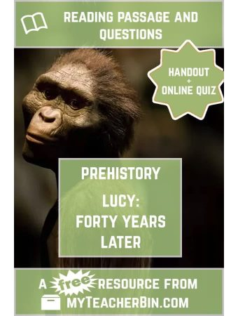 Lucy, Forty Years Later – A Prehistory Newspaper Article
