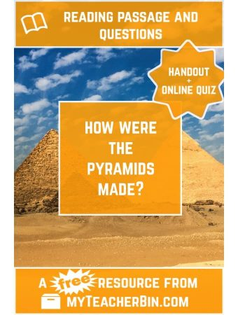 An Egyptian Mystery, Solved! – FREE Handout and Online Quiz