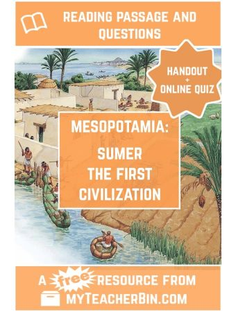 Sumer: the First Civilization – A FREE Reading Passage and Online Quiz