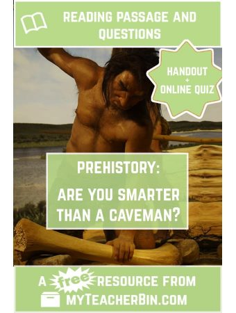 Are You Smarter than a Caveman? – A Prehistory Debate