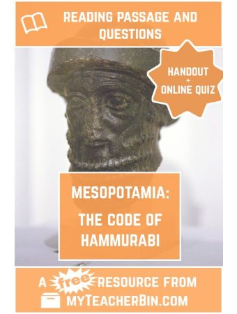 The Code of Hammurabi – A FREE Reading Passage and Online Quiz