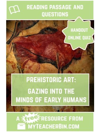 Prehistoric Art: Gazing into the Mind of Early Humans – A FREE Passage and Quiz