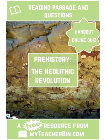 The Neolithic Revolution: A FREE Reading Passage and Online Quiz