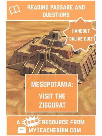 Visit the Ziggurat – A FREE Reading Passage and Online Quiz