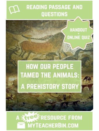 How Our People Tamed the Animals: A Prehistory Tale