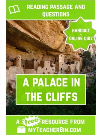 A Palace in the Cliffs: A Social Studies Passage about Cliff Palace