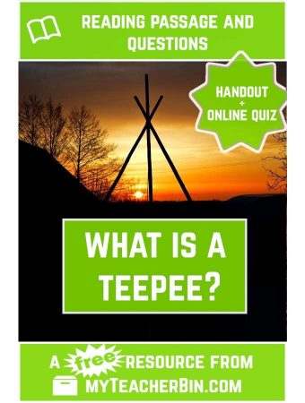 What is a Teepee? Three Short Stories