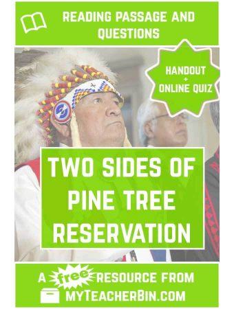 Two Sides of Pine Ridge Reservation: A Native American Reading Passage
