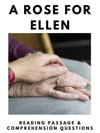 A Rose for Ellen: FREE Reading Passage and Comprehension Questions