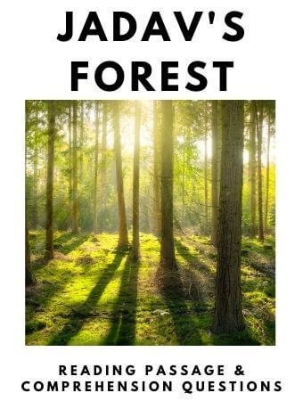 Jadav's Forest: FREE Reading Passage and Comprehension Questions