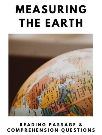 Measuring the Earth: FREE Reading Passage and Comprehension Questions