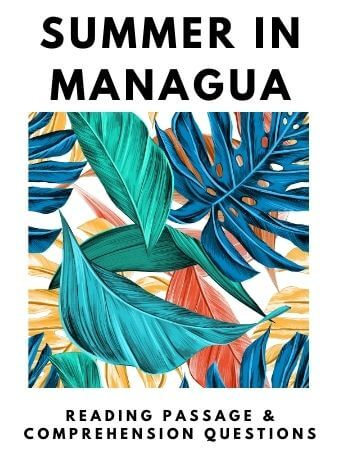 Summer in Managua: FREE Reading Passage and Comprehension Questions