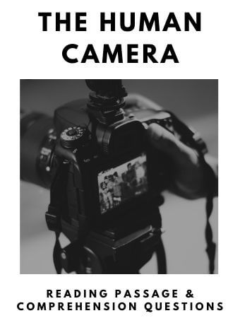 The Human Camera: FREE Reading Passage and Comprehension Questions